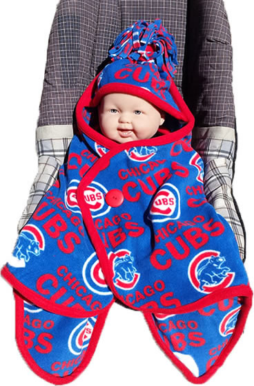 Cuddlebabe® Photo  Chicago Cubs